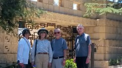 Ennis House--group